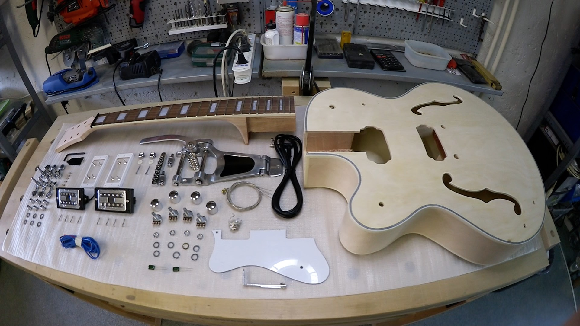 My Gretsch Style Guitar Kit Build - Ultimate Guitar